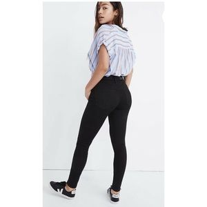 NEW Madewell High Rise Curvy Skinny Jeans 24 Tall